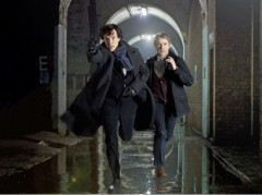 My goodness, Sherlock is back !