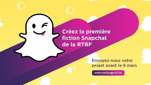 La RTBF va produire une fiction sur Snapchat