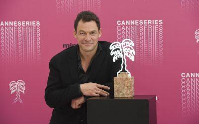 Dominic West, prix de l'Excellence de CanneSéries