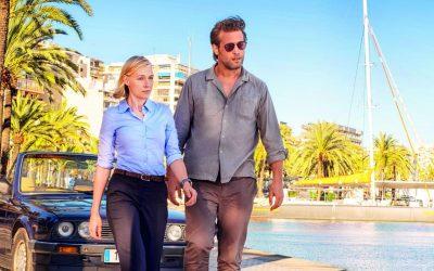 Mallorca: duo policier sur fond de plages et crustacés