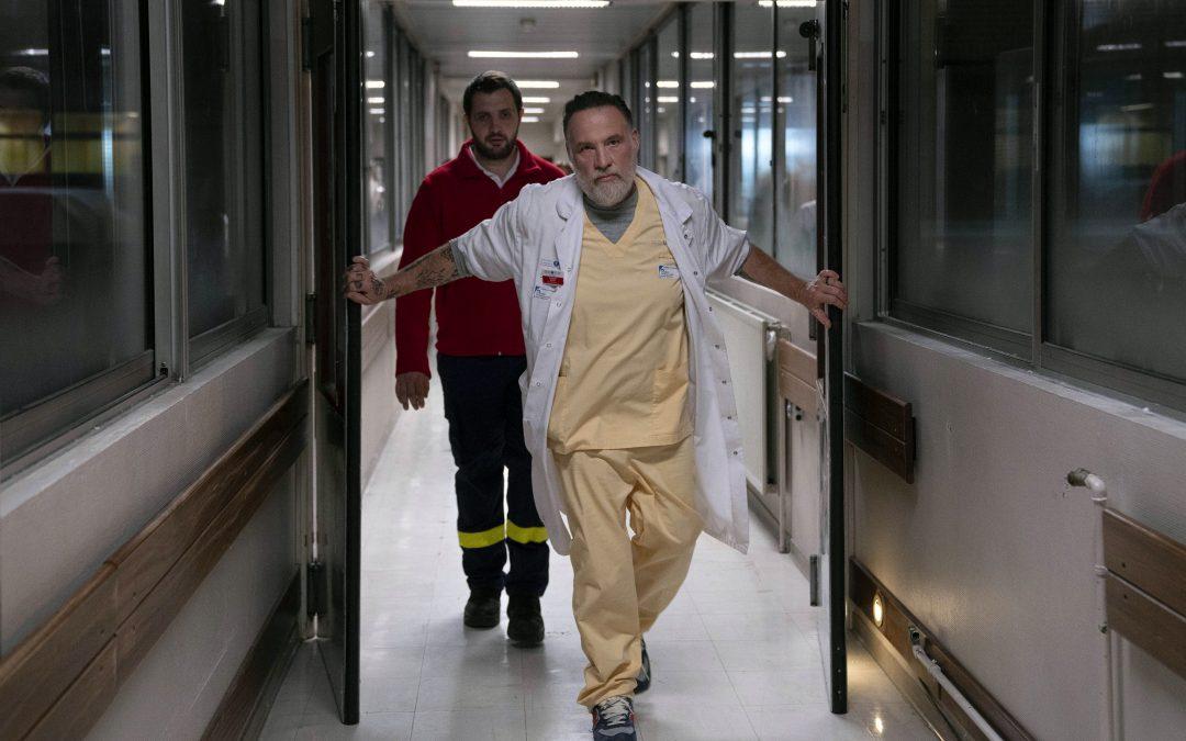 Hippocrate: Bouli Lanners «fier» d'avoir répondu à l'appel d'un «série essentielle»