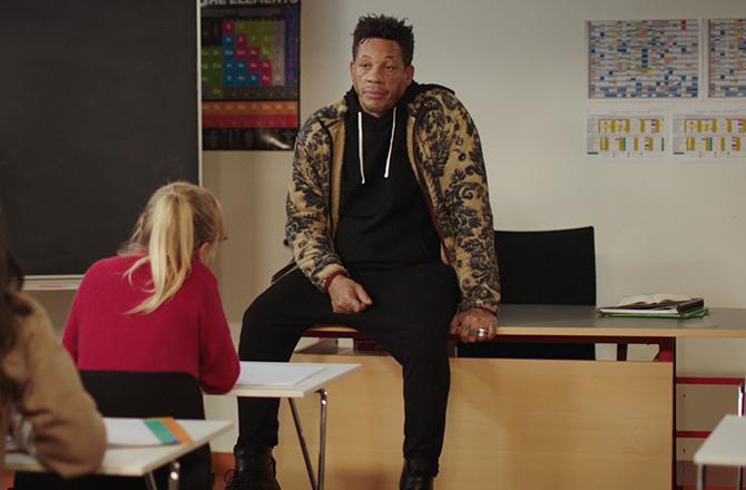 «Le Remplaçant»: JoeyStarr retourne à l'école dès le mois de juillet