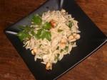 Salade de pâtes grecques aux noisettes