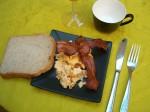 Scrambled eggs vs. scrambled eggs