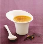 Petits pots de crème brûlée au jasmin