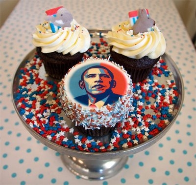 Crazy american cupcakes