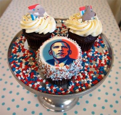 Crazy american cupcakes