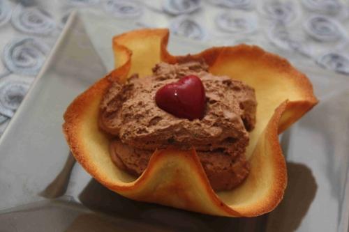 Notre mousse au chocolat à la fève tonka