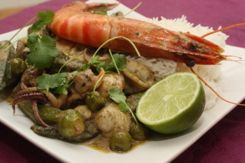Curry vert de la mer