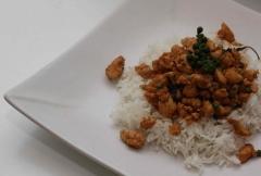 Sauté de poulet thaïlandais au poivre vert