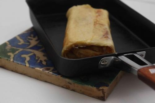 Omelette japonaise (tamago yaki)