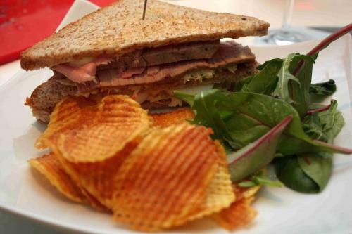 Variations autour d'un club sandwich