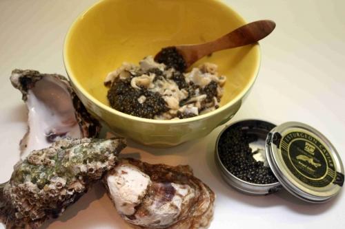 Tartare d'huîtres Gillardeau au caviar (3).JPG