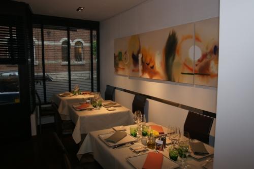 Le Coriandre: une table qui monte