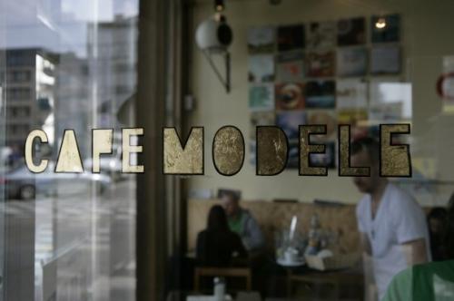 La café modèle, bistro sympa