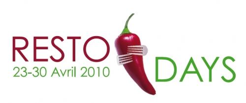 RestoDays du 23 au 30 avril 2010