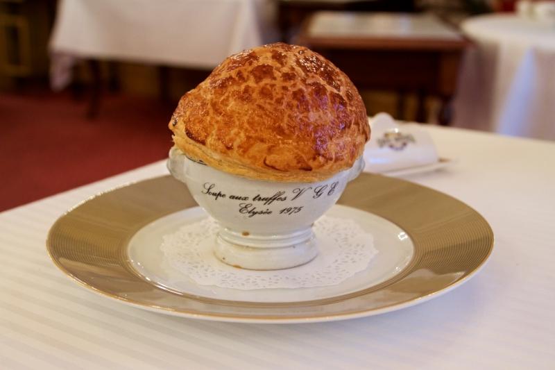 La soupe V.G.E. de Paul Bocuse