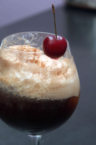 Cherry Coke Float ou l'histoire de l'ice cream soda