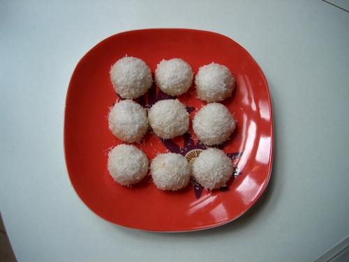 Perles de coco au riz gluant