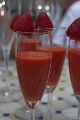 Gaspacho de fraises