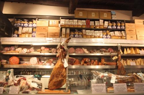 Roscioli, table d'épicier