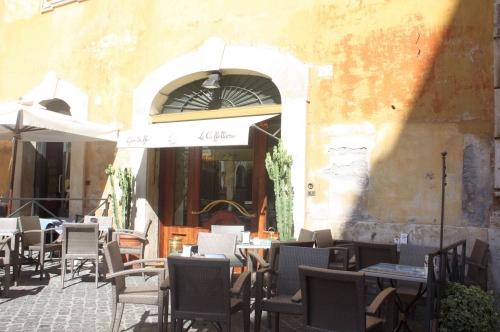 Pause café napolitaine à Rome