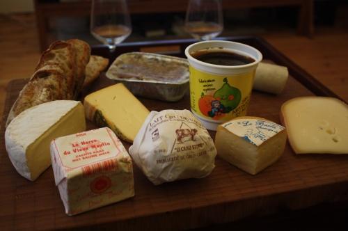 Plateau de fromages wallons