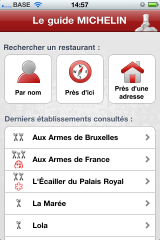 GaultMillau vs Michelin: la guerre des guides numériques