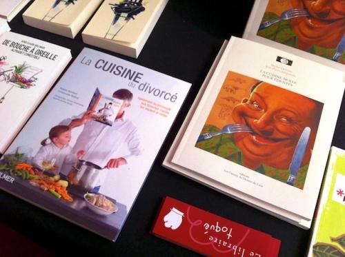Foire du livre: la cuisine à toutes les sauces