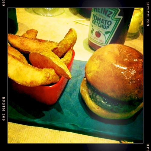 Junkfood Deluxe by Quentin: hamburger BCBG (FERME)