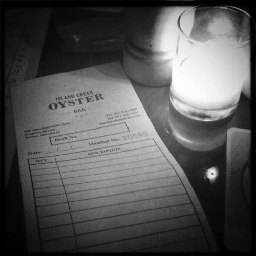Island Creek, nouvel oyster bar branché de Boston
