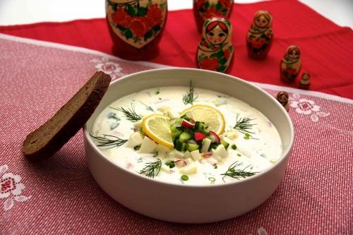 Autour d'une soupe de concombre