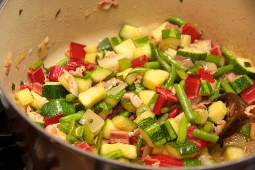 Recette minestrone, minestrone au riz, recette bettes