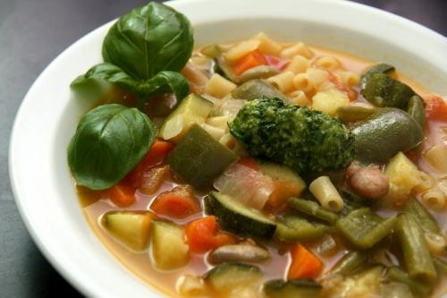 Minestrone: le plein de légumes!