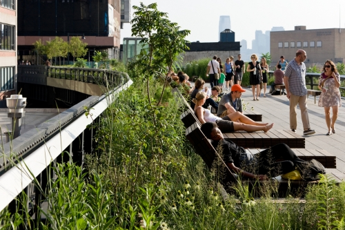 Les jardins suspendus de Manhattan – La High Line
