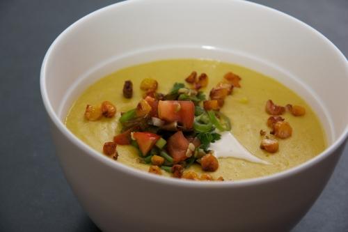 recette maïs,soupe de maïs