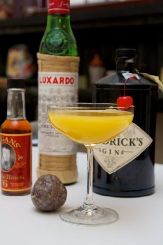 cocktail,shiso passion,fruit de la passion