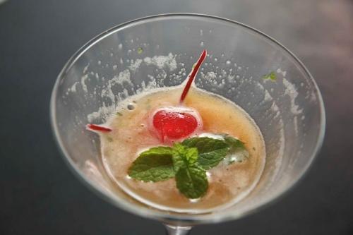 Cocktail, fruit de la passion, Bourbon