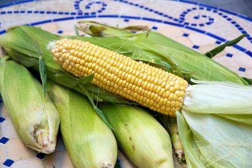 recette maïs,recette succotash,succotash edamame