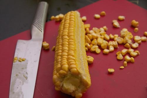 Recette maïs, Polenta de maïs, polenta fraîche
