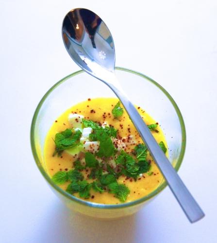 Soupe de maïs – Corn soup