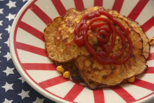 Corn fritters – les pancakes de maïs