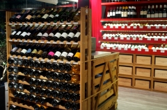 Etiquette bar à vins, bar à vins Bruxelles