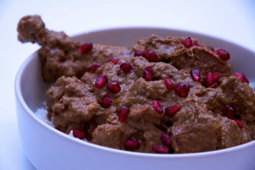 ragoût,recette iranienne,khoresh fesenjan,grenade,plat grenade