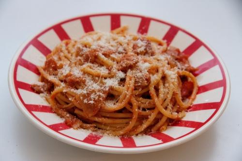 spaghetti cacio e pepe,bucatini all'amatriciana,spaghetti alla carbonara,rigatoni alla gricia