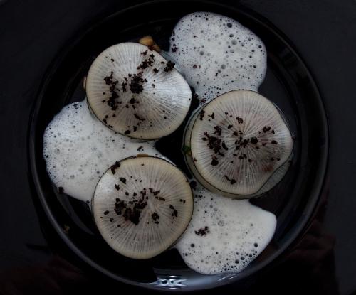 radis noir,ravioles de radis noir,jambon noir de bigorre