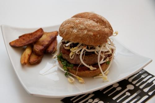 Hamburger de canard, quand le Sud-Ouest rencontre l'Asie et les USA!