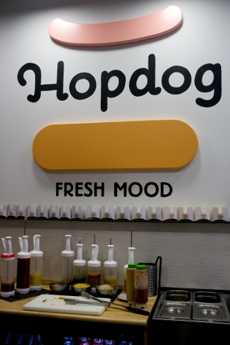 Hopdog: hot-dogs légers (FERME)