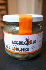 Recette escargots, conchiglioni escargots, pesto de sauge