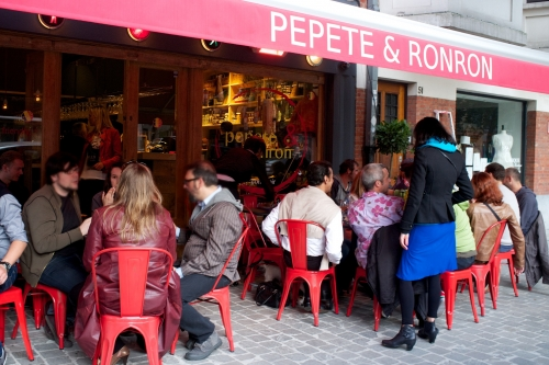 pepete & ronron,bar à vins bruxelles,chouette bar à vins